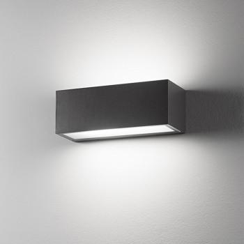 Perenz Applique da parete biemissione per esterni/interni grande in alluminio Step     6732