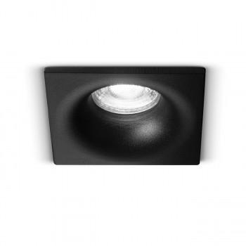 Perenz Faretto quadrato moderno da incasso fisso in acciaio in varie colorazioni Oasis     6744