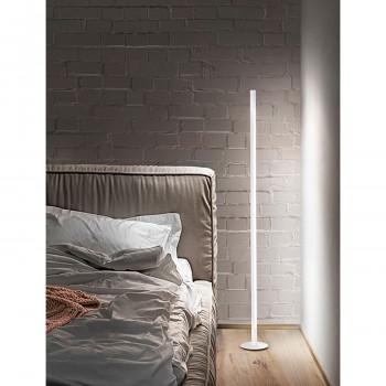 Perenz Piantana a LED design tubolare in metallo con interruttore touch dimmer Stick Bianco Lumen 1600 3000k Luce Calda  6760BLC