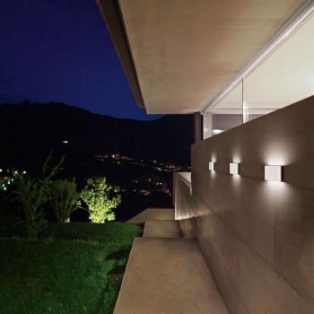 Fabas Luce Lampada da parete a LED per esterni con struttura in metallo moderna Casper  Lumen 1300 3000k Luce Calda  6788-02