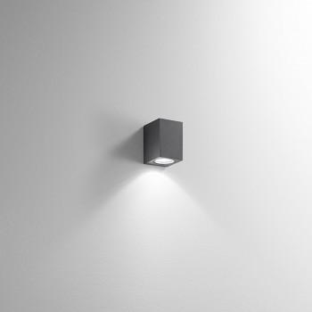 Perenz Applique bassa monoemissione per esterni/interni in alluminio diffusore in vetro Monolite     6830