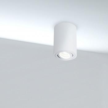 Maytoni Lampada da soffitto orientabile in stile moderno in alluminio verniciato Alfa     C016CL-01