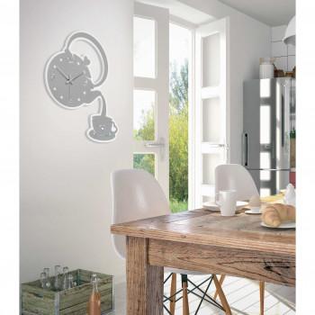 Bongelli Preziosi Orologio da parete in legno per arredare la cucina in stile moderno
