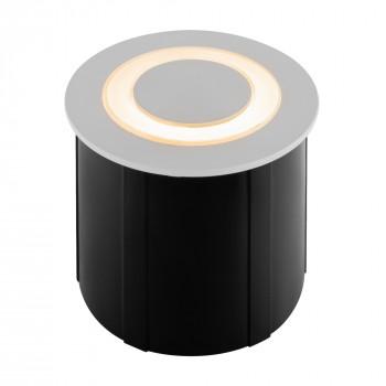 Maytoni Faretti da incasso a LED rotondo in alluminio dal design moderno Limo  Lumen 120 3000k Luce Calda  O037-L3