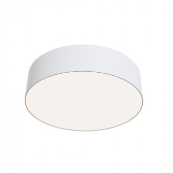 Maytoni Lampada da soffitto a LED media rotonda in alluminio dal design moderno Zon  Lumen 3100 4000k Luce Naturale  C032CL-L32