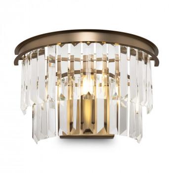 Maytoni Lampada da parete in metallo con diffusore in vetro in stile moderno Revero     MOD085WL-01