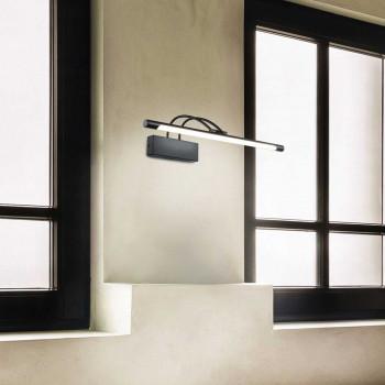 Maytoni Applique a LED per esposizione montatura in metallo in stile moderno Finelli  Lumen 800 3000k Luce Calda  MIR004WL-L12