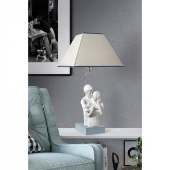 Bongelli Preziosi Lampada da parete moderna con scultura abbraccio innamorati      ME1928