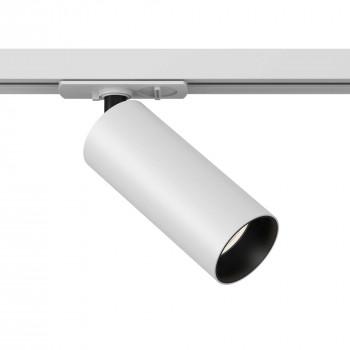 Maytoni Faretto a LED rotondo in alluminio dal design moderno per sistema a binario Sistema Binario  Lumen 1050 3000k Luce Calda  TR021-1-1