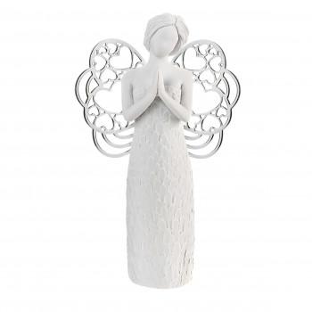 Bongelli Preziosi Bomboniera Comunione - Scultura con angelo che prega      ME1650/1