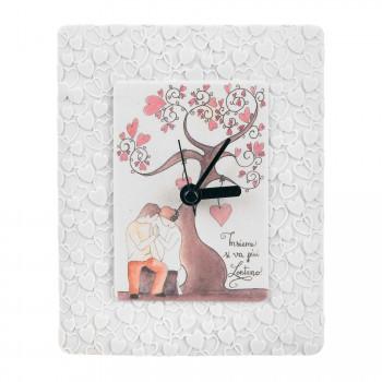 Bongelli Preziosi Orologio da tavolo per cameretta bimbi con albero della vita e cuori      ME1848