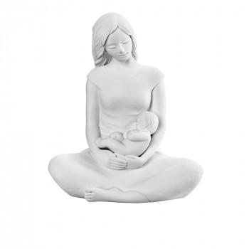 Bongelli Preziosi Scultura da tavolo in stile moderno con maternità piccola  Bianco    ME1918/1