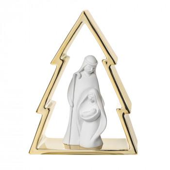 Bongelli Preziosi Decorazione natalizia con albero di natale piccolo e la natività      NT95/1