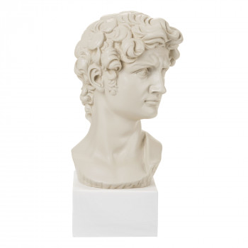 Bongelli Preziosi Busto di David piccolo in stile moderno in varie colorazioni con base      ME1961/1-