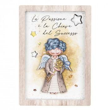 Bongelli Preziosi Bomboniera Comunione - Angeli dei Sogni con stelline Maschio  Rovere Breeze    ME1993/M