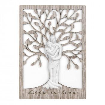 Bongelli Preziosi Bomboniera Vari Eventi - Quadretto con albero della vita      ME2085