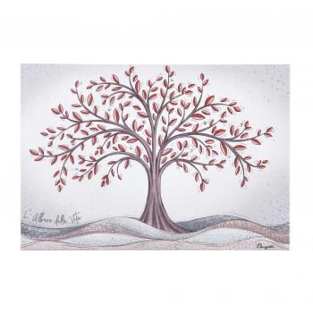 Bongelli Preziosi Bomboniera Vari Eventi - Quadretto albero della vita  Rosso    ME2099/1RS