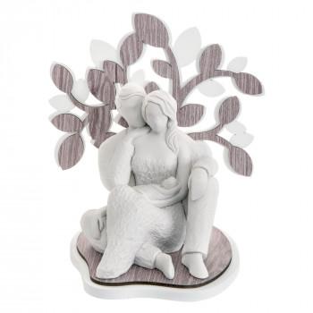 Bongelli Preziosi Scultura da tavolo moderna stilizzato con sacra famiglia e albero della vita Sogno     ME1643/2RO