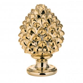 Bongelli Preziosi Pigna siciliana portafortuna decorata a mano portafortuna piccola  Oro    ME1599/1OR