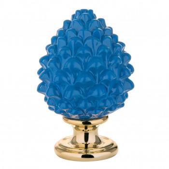 Bongelli Preziosi Pigna siciliana portafortuna decorata a mano portafortuna media  Blu    ME1599/2BL
