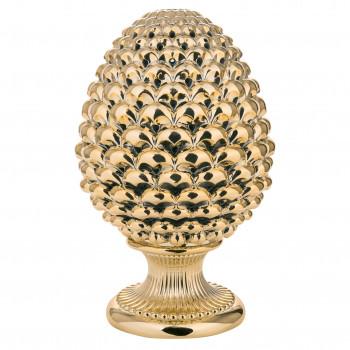 Bongelli Preziosi Pigna siciliana portafortuna decorata a mano portafortuna grande  Oro    ME1875/OR