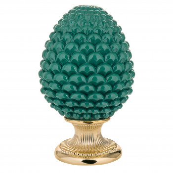 Bongelli Preziosi Pigna siciliana portafortuna decorata a mano portafortuna grande  Verde    ME1875/V