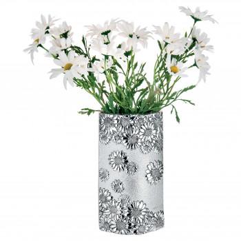 Bongelli Preziosi Vaso da tavolo di design classico in metallo argentato  Argento