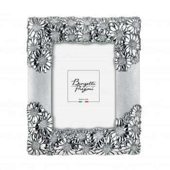 Bongelli Preziosi Portafoto da tavolo con cornice in argento con margheritine di design moderno  Argento   15x20 ME953