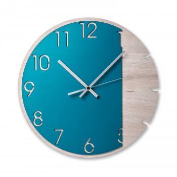 """Ves Design Orologio da parete dal design moderno in legno """"Blue Moon"""" Istanti     L05R14"""