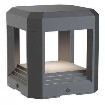 Maytoni Illuminazione da esterno da terra con diffusore a LED dal design moderno Royal Mile  Lumen 330 3000k Luce Calda  O019FL-L13GR3K