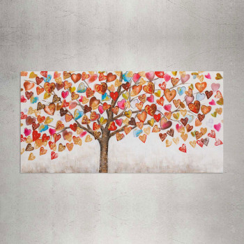 Agave Quadro moderno natura su tela 140x70 Tree of Love