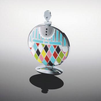 Alessi Alzata per dolci pieghevole in acciaio lucido Fatman Multicolore    MW08