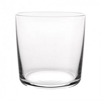 Alessi Bicchieri Acqua Set 4pz Glass Family Trasparente
