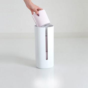 Alessi Contenitore per rotoli di carta igienica Birillo Bianco    PL18W
