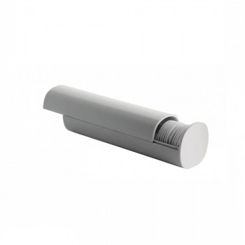 Alessi Distributore di dischetti e batuffoli di cotone Birillo Bianco    PL06W