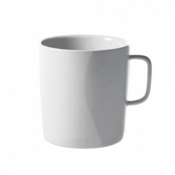 Alessi Mug Set 4pz  PlateBowlCup Bianco    AJM28/89