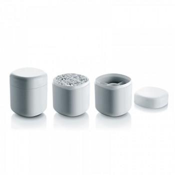 Alessi Porta cotton fioc Birillo Bianco    PL09W