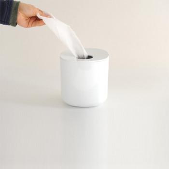 Alessi Portafazzoletti di carta dispenser Birillo Bianco    PL15W