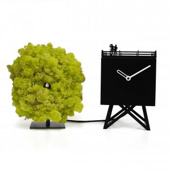 """Progetti Orologio da tavolo a cucù di design moderno """"Birdwatching"""""""