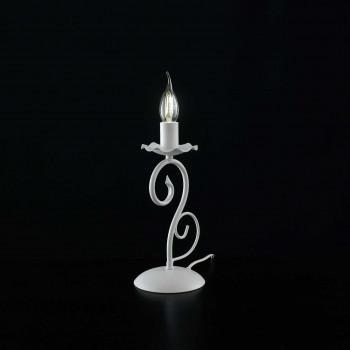 Be Light Abatjour da comodino con struttura in metallo dalle linee classiche Alma     BL130-LT