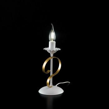 Be Light Lampada da tavolo con struttura in metallo dalle linee classiche Bandolo     BL139-LT