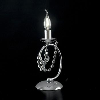 Bonetti Illumina Abat Jour classica in metallo con strass in cristallo Magda     BL146-LT