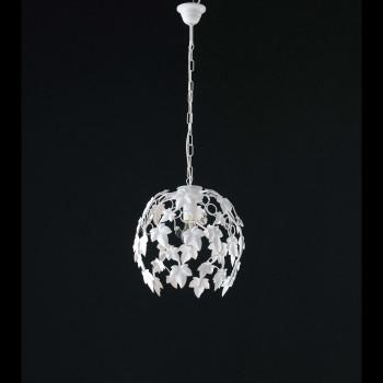 Be Light Lampadario a sospensione piccolo con struttura in metallo dalle linee classiche Edera     BL50-1