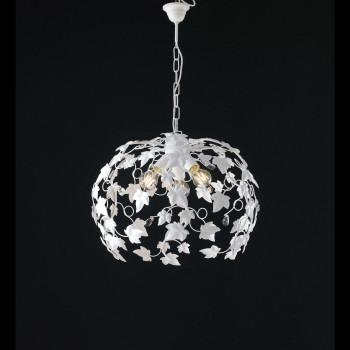 Be Light Lampadario a sospensione grande con struttura in metallo dalle linee classiche Edera     BL50-3