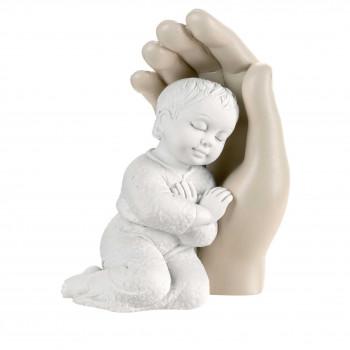 Bongelli Preziosi Bomboniera Battesimo - Scultura Bambino abbracciato      ME1691/