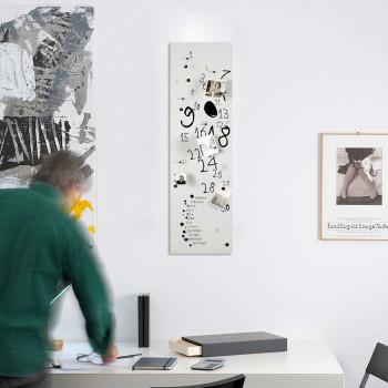 """Design Object Lavagna magnetica verticale con magneti per foto e calendario """"KROK 3""""      IT403"""