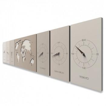 CalleaDesign Orologio da parete orizzontale Cosmo     12-001
