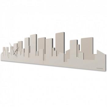 CalleaDesign Orologio da parete Panoramico Skyline