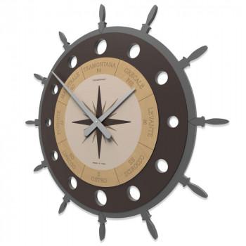CalleaDesign Orologio da parete Rosa dei Venti