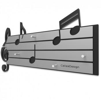 CalleaDesign Portachiavi magnetico da parete in legno Tartini